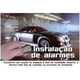 Alarmes automotivos melhor valor na Vila Romana